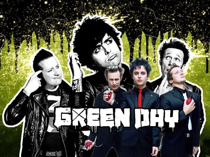 พั้งค์ร็อกจากอเมริกา Green Day ที่มีชื่อเสียงไปทั่วโลก
